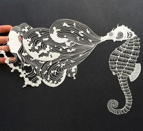 Les découpages de Maude White   [Art] - artist's point of view, creative process &  interesting pieces   Scoop.it