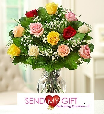 Send Mixed Flower Bunches Online, Gift Flowers - Send My Gift | Send My Gifts | Scoop.it