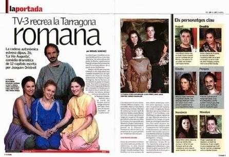 LA VIA AUGUSTA A TV3 | Clàssics a la romana. | Mundo Clásico | Scoop.it