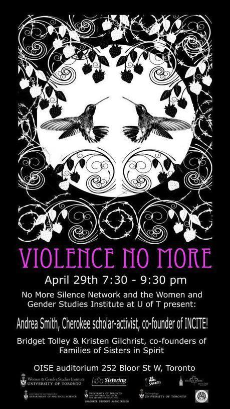Violence No More event at the University of Toronto | Avant-Garde Ladies | Scoop.it