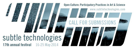 Call for Submissions | Subtle Technologies | Urban Research | Scoop.it