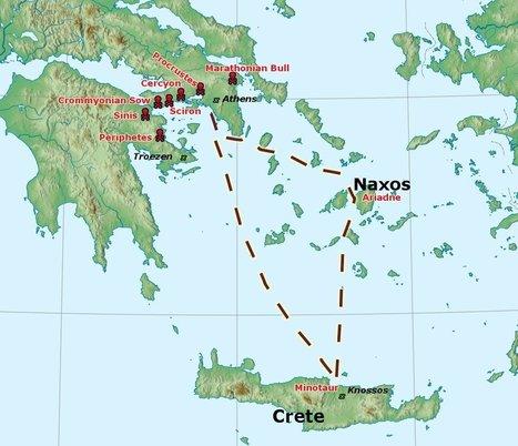 Els treballs de Teseu | El fil del mite grec | Cultura Clásica | Scoop.it