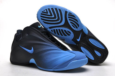 nike flightposite black and royal blue men basketball shoes | popular and new list | Scoop.it