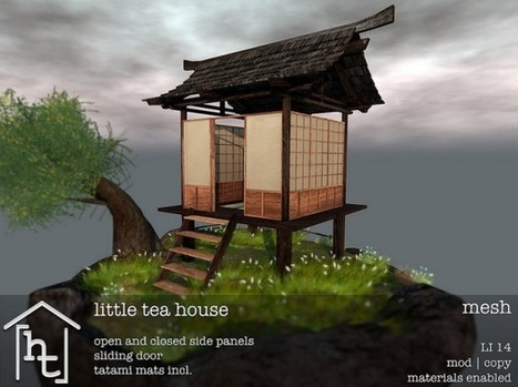 [HT:HOME] - LITTLE TEA HOUSE | Second Life - Ethnicity | Scoop.it