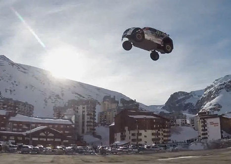 Watch a Stunt Driver's Jump Go Spectacularly Wrong   How cool it is?!   Scoop.it
