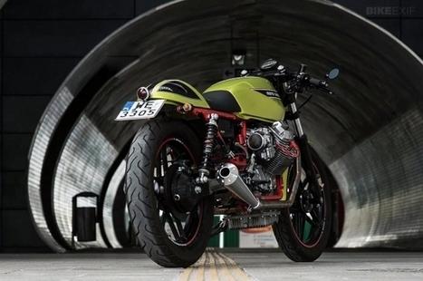 Moto Guzzi V65 cafe racer | Bike EXIF | custom cafe racer | Scoop.it