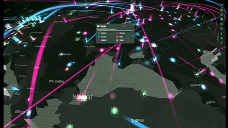 An Interactive Map Showing Global Cyberattacks In Real Time | Amazing Science | Scoop.it