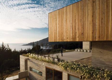 Casa El Pangue tiered house by Elton + Léniz | What Surrounds You | Scoop.it