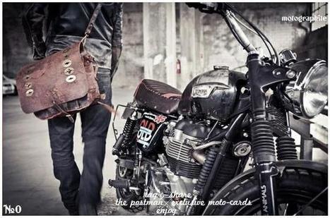 #0 THE POSTMAN | Vintage Motorbikes | Scoop.it