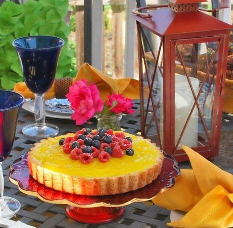 Lemon Cheesecake Tart | Recipes | Scoop.it