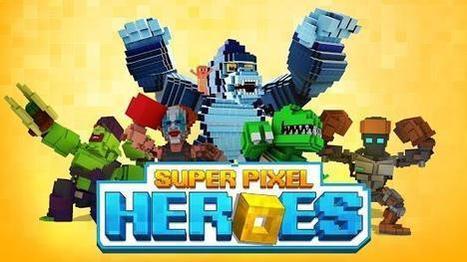 Super Pixel Heroes - Experience the thrill of wining fights | Free Android Apps and games | Scoop.it