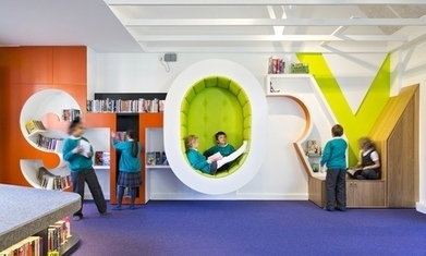 School libraries shelve tradition to create new learning spaces | Bibliotek och bibliotekarierollen | Scoop.it