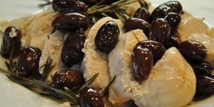 Tacchino imperiale incoronato dalle olive nere di Rodi | La Cucina di Timachida | Scoop.it