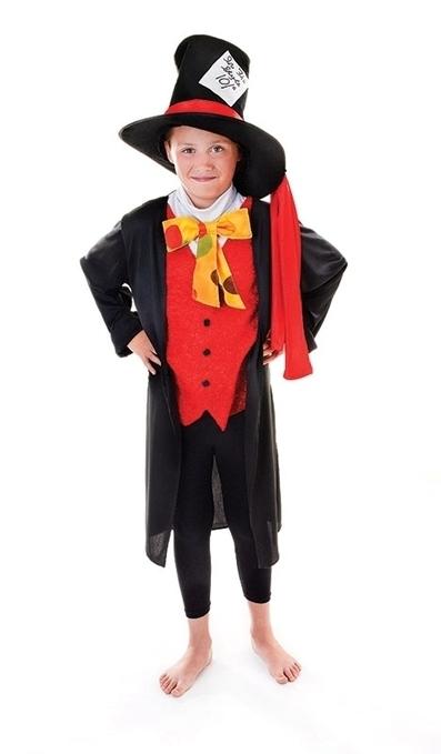 Childrens Mad Hatter Fancy Dress Costume   Fancy Dress Ideas   Scoop.it