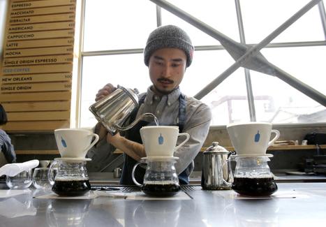 Calif. coffee chain Blue Bottle brews long lines in Tokyo... | Coffee News | Scoop.it