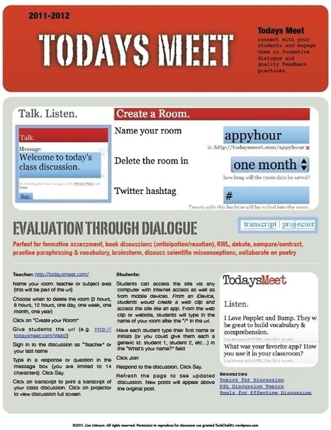 Today's Meet « techchef4u | Collaborative Tools | Scoop.it