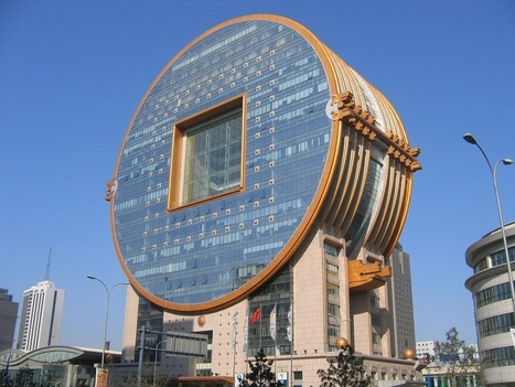 These Brand New Circular Buildings Are Astonishing Feats Of Engineering | Strange days indeed... | Scoop.it
