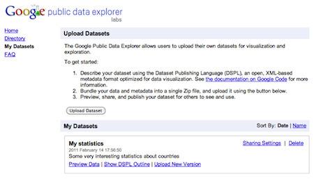 Good news, data journalists! Google opens its Public Data Explorer via @Niemanlab   Brand & Content Curation   Scoop.it