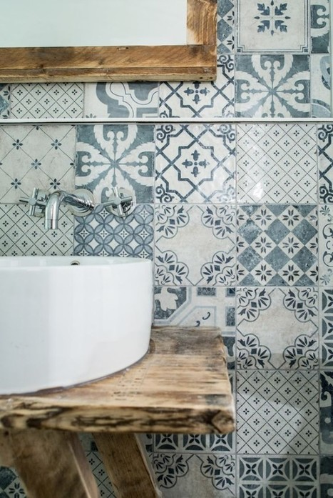 17 Rustic And Natural Bathroom Inspiration Ideas | Homesthetics | Scoop.it