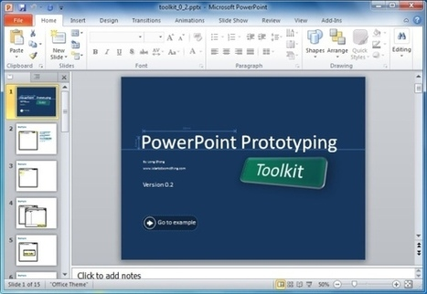 PowerPoint Prototyping Toolkit: Create UI Designs And Wireframes In | Expertiential Design | Scoop.it