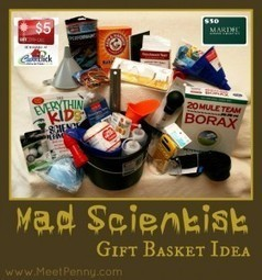 DIY Mad Scientist Gift Basket Idea for Kids (Giveaway) | Christmas Gifts | Scoop.it