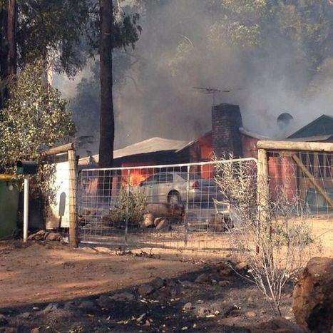 Firefighters contain WA blaze after 27 homes lost   Year 10 Geography   Scoop.it