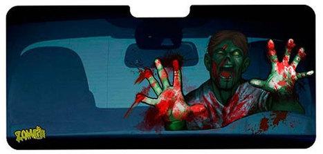 Pare-soleil zombie - Geek, Zombie | News geek | Scoop.it