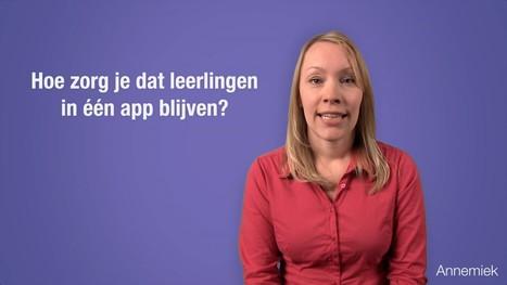 Hoe zorg je dat leerlingen in één app blijven? - YouTube   Tips: Onderwijs en ICT   Scoop.it