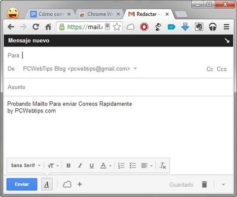 Como Enviar Rapidamente un Nuevo Mensaje de Correo | PCWebtips.com | Windows PC - Trucos y Tips | Scoop.it