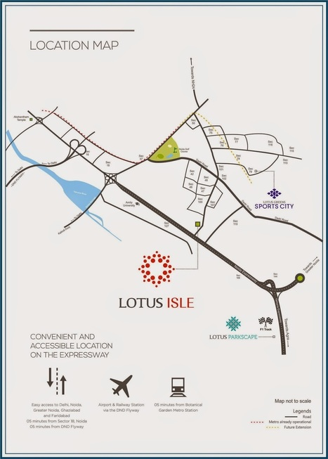 Lotus Isle – Welcoming you into the World of Serenity | Lotus Greens Residential Projects Noida, Gurgaon | Scoop.it