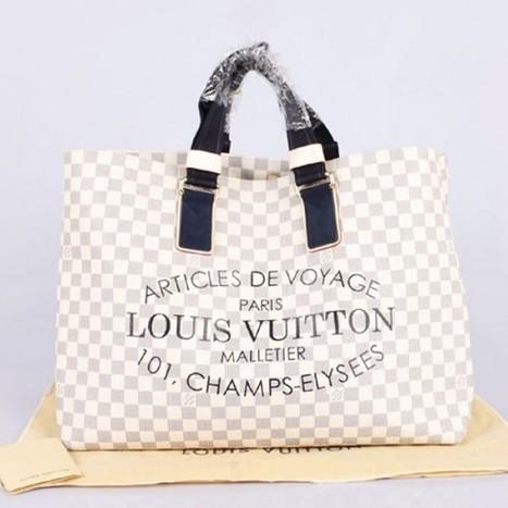 Louis Vuitton Outlet Louis Vuitton Damier Azur Canvas Cabas GM N41180 For Sale,70% Off | Online Louis Vuitton Outlet Bottom Price | Scoop.it