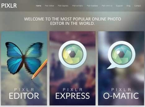 Le point sur la suite d'outils graphiques Pixlr   Les Infos de Ballajack   Boite à outils   Scoop.it