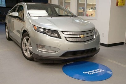 Momentum Demonstrates Wireless Charging of Chevy Volt - EV World   Concept Cars, and new arrivals   Scoop.it