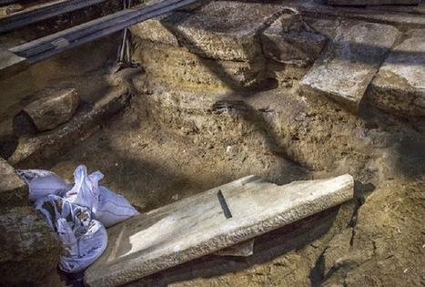 Underground 'vault' found at Amphipolis tomb | Monde antique | Scoop.it