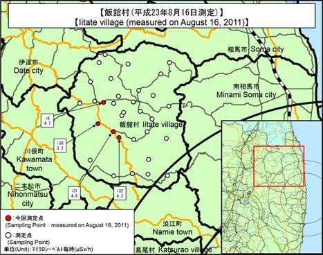 Mesures sur les points de contrôle hors de la zone des 20 Km autour de la centrale nucléaire de Fukushima Dai-ichi NPP (17/08/2011 10h JST) | MEXT | Japon : séisme, tsunami & conséquences | Scoop.it