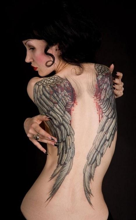 Top 10 Angel Tattoo Designs for Girls | Maiden Release | Maiden Release: Wallpaper,Top ten, Showcase | Scoop.it