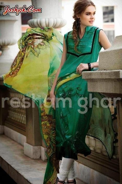 Resham Ghar Stylish Women Summer Wear Dresses 2014   joshpk   Scoop.it