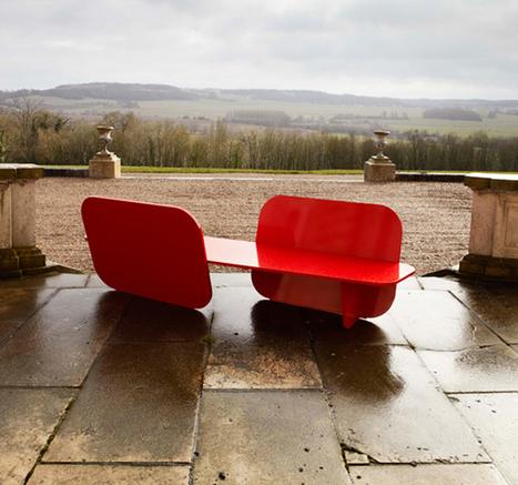 Sleek Outdoor Bench Inspired by Airplane | Urban Gardens | Annie Haven | Haven Brand | Scoop.it