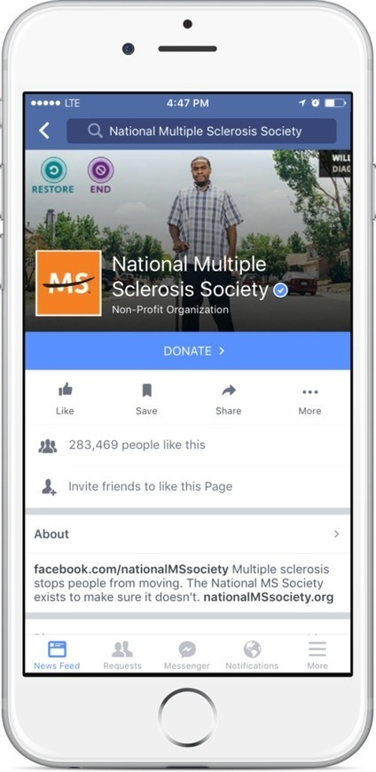 New Tools Will Make Facebook More Fundraising Friendly | Online Fundraising | Scoop.it