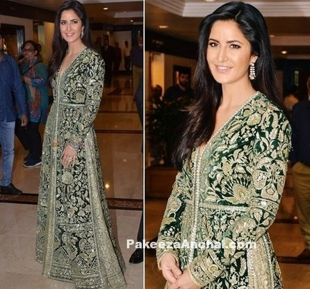 Katrina Kaif dazzling in Embroidered Sabyasachi Outfit | Indian Fashion Updates | Scoop.it