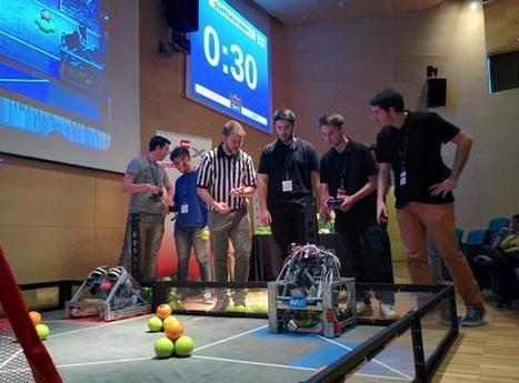 Dos equipos catalanes, en la final mundial de robótica en EE.UU. | Competències digitals | Scoop.it