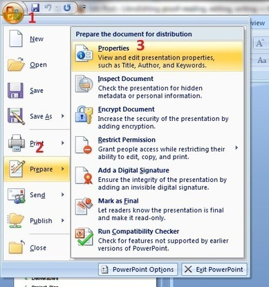How to count the words in a PowerPoint 2007 presentation | PowerPoint Presentation Tools and Resources | Scoop.it