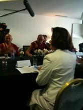 Entrevue avec le Dalaï Lama et remise du taureau blanc   Toulouse La Ville Rose   Scoop.it