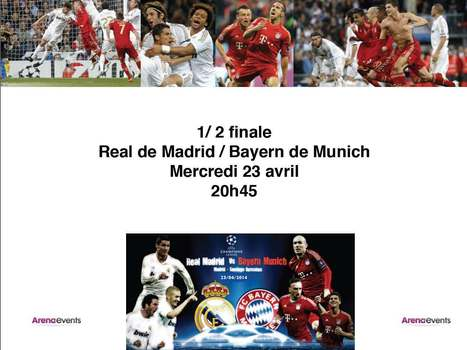 Demi-Finale Madrid Bayern en VIP à Madrid ? | EVENTS, SPORT & SPONSORING | Scoop.it