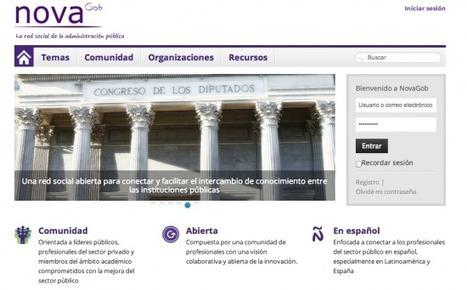 Nace Novagob, la red social de la administración pública | Diálogos sobre Gobierno Abierto | Scoop.it