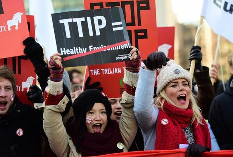 TTIP petition hits 3 million signatures | Business | News | The Independent | The uprising of the people against greed and repression | Scoop.it