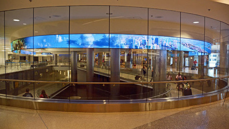 Digital signage welcoming international visitors to Miami | Innovation & Technology | Scoop.it