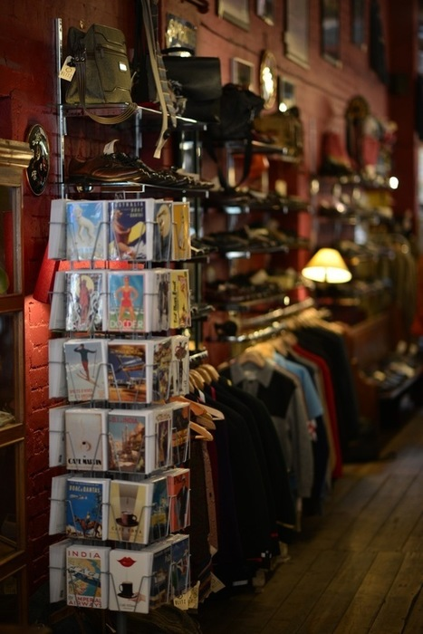 Vintage Shopping at Blitz London | Vintage and Retro Style | Scoop.it