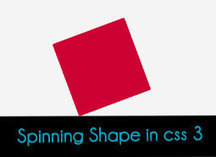 Animated Spinning Shapes in CSS3 | Responsive WebDesign Ressources | Scoop.it