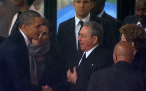 Could first presidential handshake in 13 years signal a US-Cuba thaw? | Al Jazeera America | Cuban-American Relations | Scoop.it